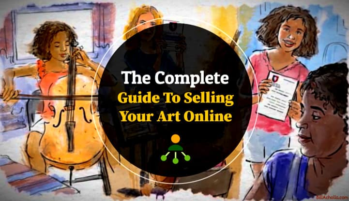 How to Sell Art Online - The Complete Guide and Tips